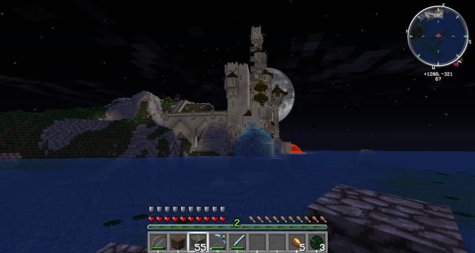 Minecraft wizard towers