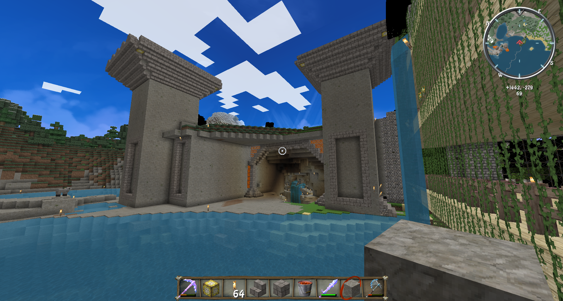 Sheep Pen Minecraft Also Holds a Sheep Pen