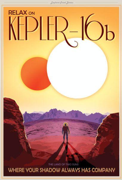 NASA Kepler Poster