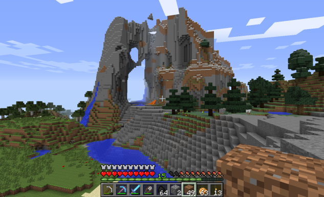 Minecraft Castle East