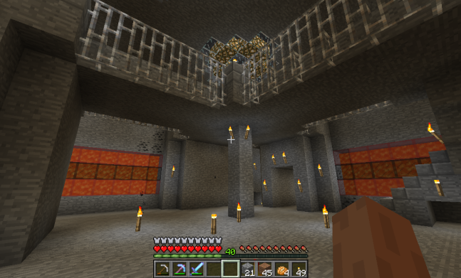 Minecraft Castle East Grand Entrance