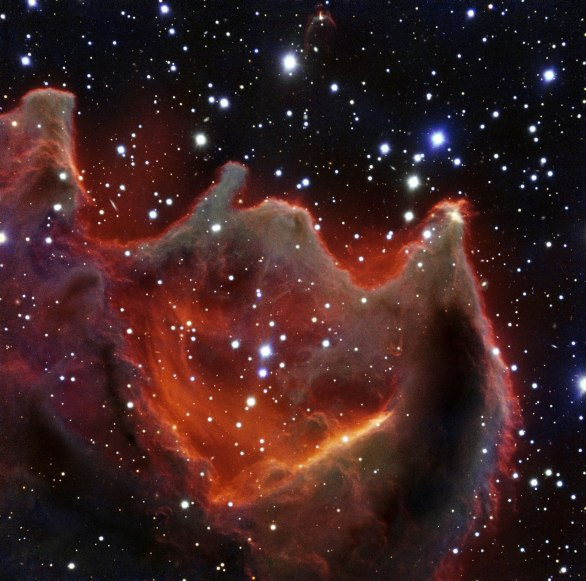 CG4 aka the God's Hand Nebula