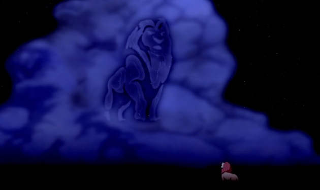 The Lion King - Mufasa in the Clouds